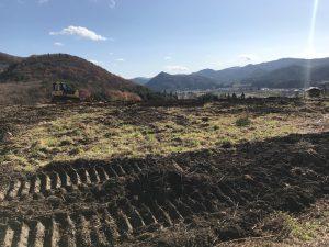 ぶどう園開墾
